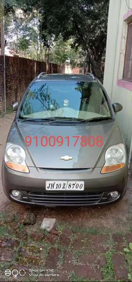 Chevrolet Spark 2011 with air bag, Petrol Well Maintained
