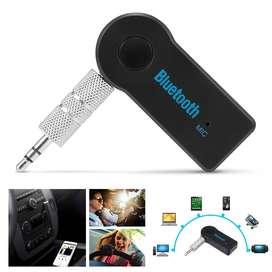 Adapter Receiver Bluetooth Handsfree dengan Jack Audio 3.5mm