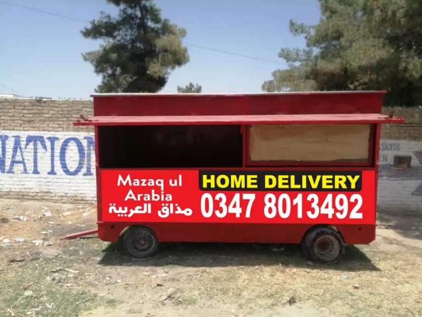 Mobile trolly shop for sale 0