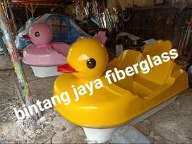 bebek pink sepeda air fiberglass, sepeda air fiber terunik, pabrik