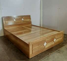 Nice look bed with storng quality base