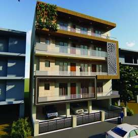 For sale 3bhk flat in green field colony Faridabad
