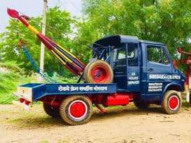 Tata 407 crane Towing van