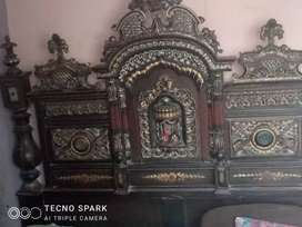 Bed, Showcase and Dressing Table for Sale