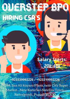 HIRING CSRs - OverStep Bpo batch November 2020