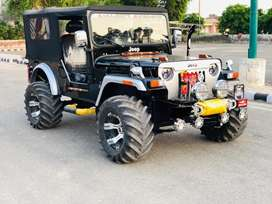 Open new look willys jeeps