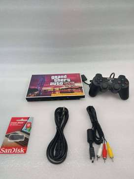 PS2 32 GB WITH 20 GAME AND ALL ACCESSORIES 1 MONTH WARRANTY 3750 RS