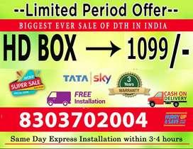 New TATA SKY Lowest price in India Guaranteed