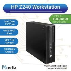 HP Z240 Workstation/ 1Yr Warranty