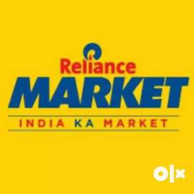 Reliance Market Hiring 10th/12th passout candidates Urgently