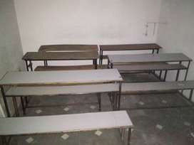 Bench for students