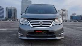 Nissan Serena 2.0 Highway Star AT 2017 Low KM Kaki aman siap pakai