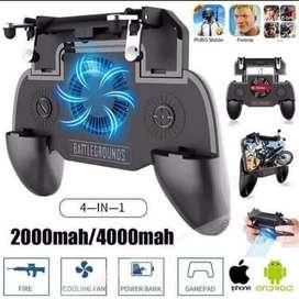 Mobile Game Controller Ada Kipas Powerbank