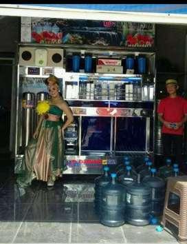 Perakitan depot air minum isi ulang stainlees made in Damisiu