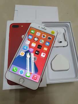 Iphone 7 plus 128gb mulus terwat siap pakai