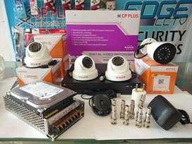 CCTV Brand Jerman merk CP-PLUS Paket 4Camera 2,4MP