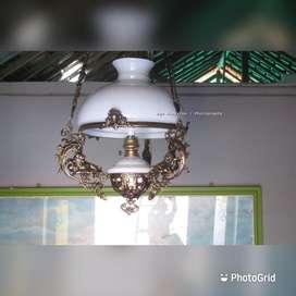 Lampu gantung antik katrol betawi repro