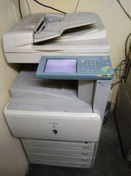 Canon Colour and Ricoh B/W Xerox machine (2 Nos.) for sale