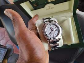 Rolex platinum watch
