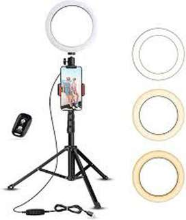 Light stand for videos and you tube videos