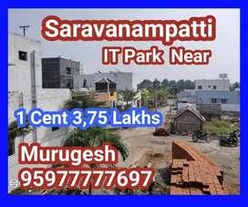 Saravanampatti Dtcp plots in IT Park near Keeranatham