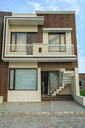 2 BHK Independent Villa in GBP Derabassi. Ready to Move. East Facing.