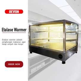 Etalase Warmer - Etalase  Pemanas Fried Chicken Hemat Listrik