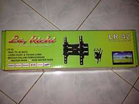"Breket / Bracket Dudukan TV LCD/LED 14""-50"" LR42 Larichi Wall Besar"