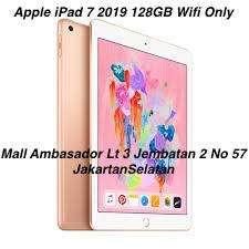 Dsni Nyicil iPad 7 128GB WiFi Only [KTP+SIM]