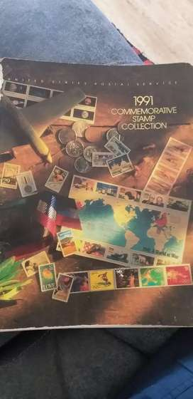 1991 Commemorative Stamp Collection