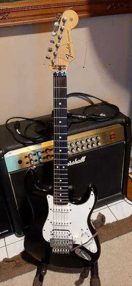 Fender Fat Strat HSS Floydrose Made In Mexico