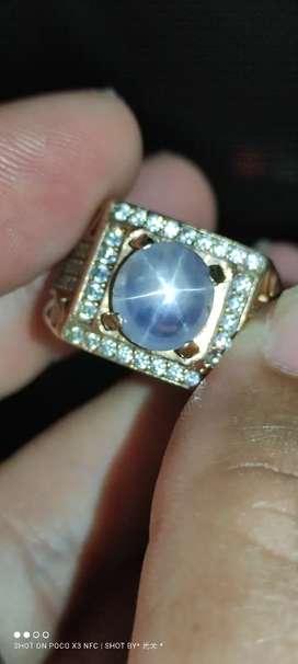 Natural star blue sapphire ceylon