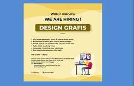 Lowongan staff Design Grafis dibutunkan segera