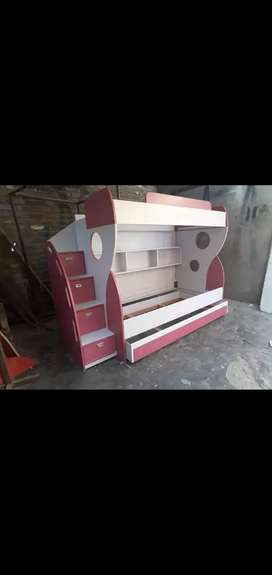New beautiful triple bed for kids.
