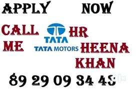 TATA MOTORS company job full time apply helper store keeper supervisor