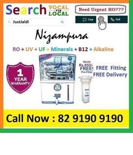 Nizampura18.3 AquaGrand RO Water Purifier Water Filter AC dth TV car
