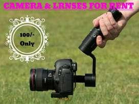 Camera Rent @ Cheap Rate in Trivandrum