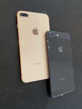 Iphone 8 plus 64 gb second bergaransi