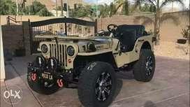 Jeep's modified
