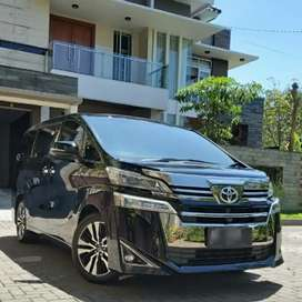 ALL NEW VELLFIRE 2.5 G ATPM TRANSFORMER, km 3 ribu,th pemb + reg 2019