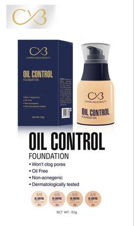 CVB Oil Control Foundation 50g - C-33