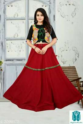 Divine Elegant Banglore Satin Printed Lehengas