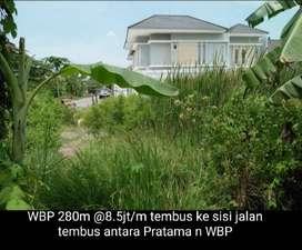 Sewa Tanah Perumahan Wiyung Brantas Permai Surabaya Murah Hadap Timur