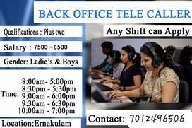 Back Office Telecalling