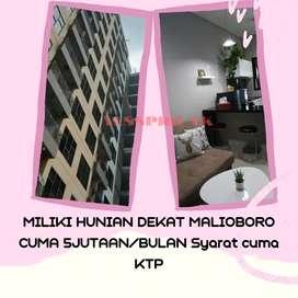 Apartemen Murah Nempel Malioboro DP Cuma 5jt/Bulan