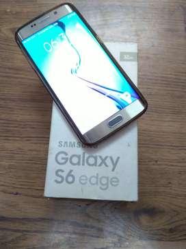 Samsung Galaxy S6 edge - a very good condition phone
