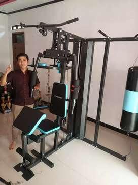 The best Home gym 3 sisi Pakai samsak full gym