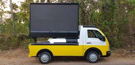 LED ADVERTISING VAN FOR RENT