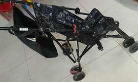 Stroller roda 4, ada pengunci roda