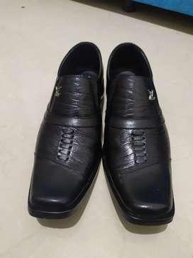 Sepatu Pantopel Pria Kulit Asli Sepatu Formal Pantopel Cowok Kekinian